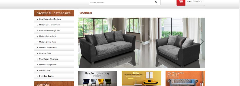 Malik Furniture Website