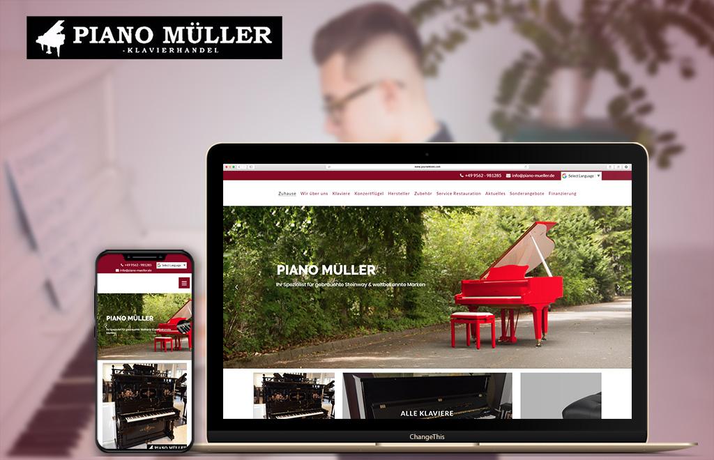 Pinao Mueller Website
